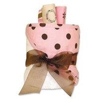 Trend Lab Gift Cake - Maya Dot Hooded Towel