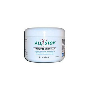All Stop AS00072 Medicated Skin Cream - 2 oz
