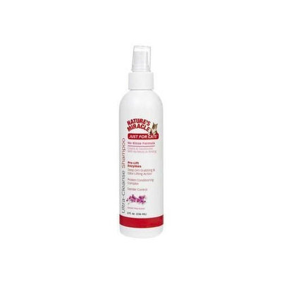 Natures Miracle Nature`s Miracle Products Just For Cats Ultra-Cleanse No Rinse Shampoo 8 Oz