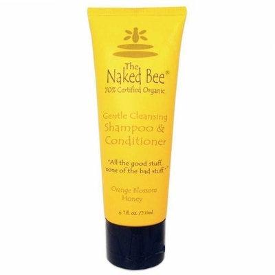 The Naked Bee Orange Blossom Honey Shampoo & Conditioner 6.7 Oz