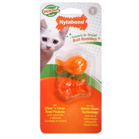 Nylabone Cat Dental Insert-A-Treat Bait Buddies Treat Holder BL