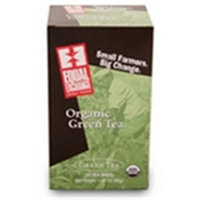 Equal Exchange 53266 Equal Exchange Green Tea- 6-20 BAG