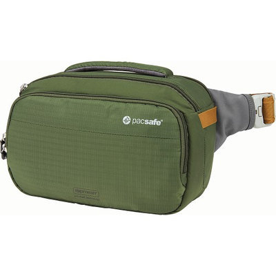 Pacsafe Camsafe V5 Anti Theft Camera Cross Body AND HIP Pack (Olive/khaki)