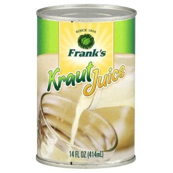 Frank's Franks Kraut Juice, 14-ounces (Pack of12)
