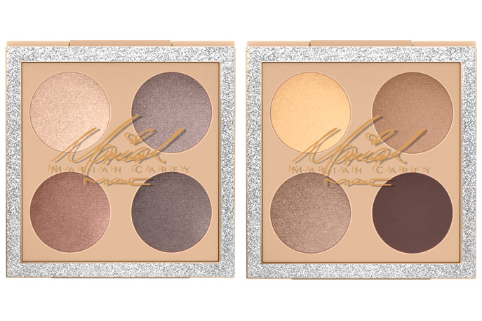 MAC Cosmetics X Mariah Carey Eyeshadow x 4