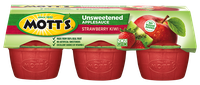 Mott's® Unsweetened Applesauce Strawberry Kiwi