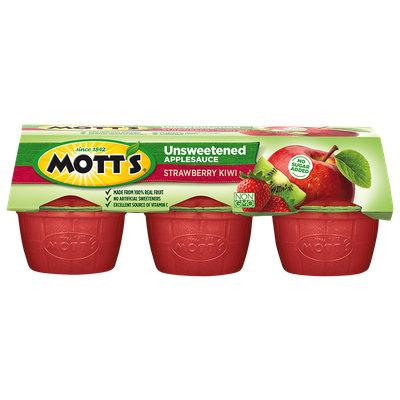 Mott's® Unsweetened Applesauce Strawberry Kiwi