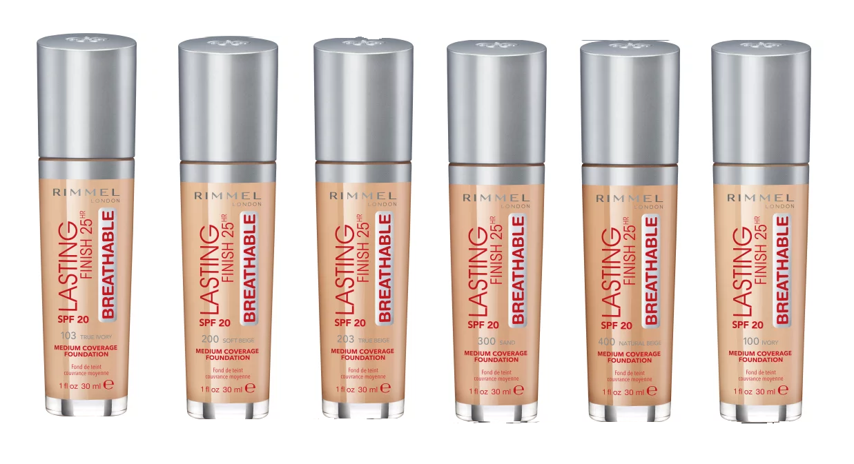 Rimmel London Lasting Finish Breathable Foundation