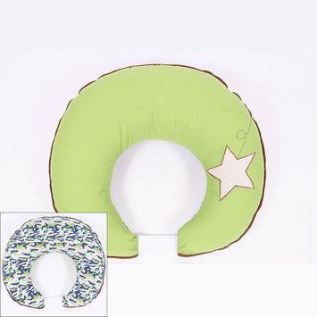 Bacati Camo Air Hugster Reversible Nursing Pillow Cover (Green)