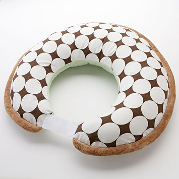 Bacati Nursing Pillow Cover (Brown/Green)