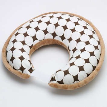 Bacati Dots Nursing Pillow Color: White/chocolate