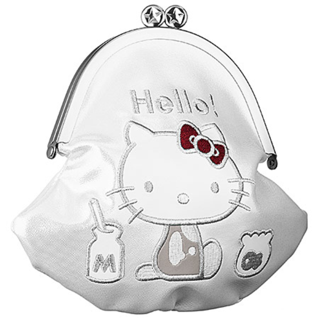 Hello Kitty Milk Money Makeup Bag