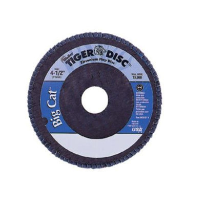 Weiler Big Cat High Density Flat Style Flap Discs - 50810 SEPTLS80450810