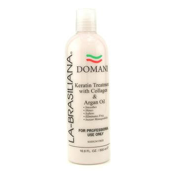 La Brasiliana La-Brasiliana Domani Keratin Treatment With Collagen & Argan Oil 500ml/16.9oz