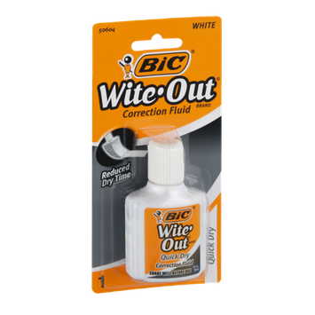 BIC Wite Out Correction Fluid