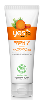 Yes to Carrots Paraben Free Pampering Conditioner