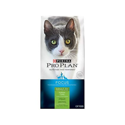 PRO PLAN® FOCUS ADULT 11+ Indoor Care Turkey & Rice Formula