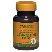Natures Plus L-Carnitine 300 mg Vcaps 30 Vcaps