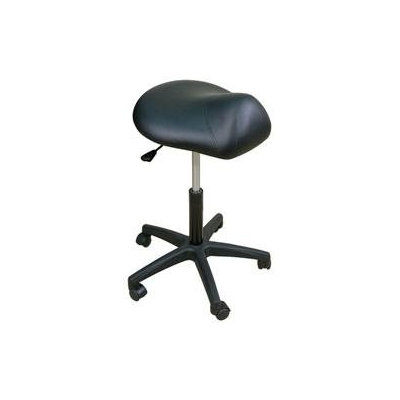 Oakworks Premium Saddle Stool Color: Blue grass