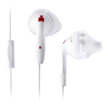 Yurbuds Inspire Talk In-Ear Headphones - White