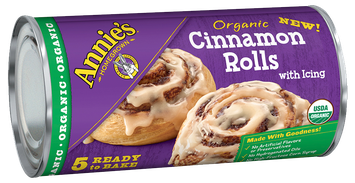 Annie's®  Organic Cinnamon Rolls with Icing