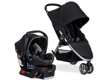 britax 2017 B-Agile 3 & B-Safe 35 Elite Travel System
