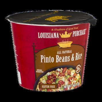 Louisiana Purchase Pinto Beans & Rice