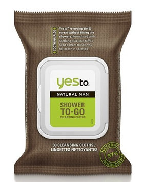 Yes To Natural Man Shower To-Go Cleansing Cloths