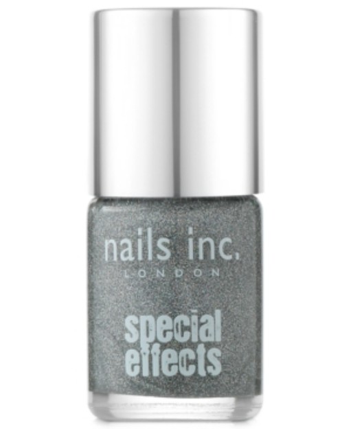 nails inc. Special Effects Electric Lane Holographic Glitter Top Coat Electric Lane Holographic Glitter Top Coat 0.33 oz