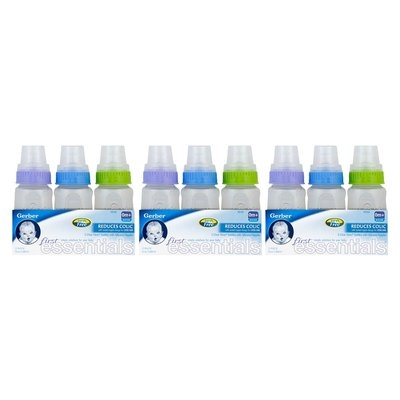 Gerber - First Essentials 5oz Bottles, 9-pack