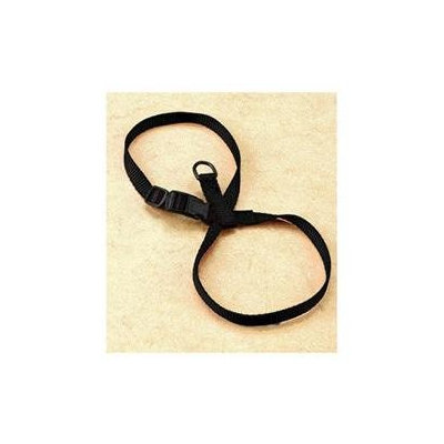 Hamilton Pet Company - Adjustable Figure Eight Cat-pup Harness- Black .38 X 8-13 - CHEA MDBK