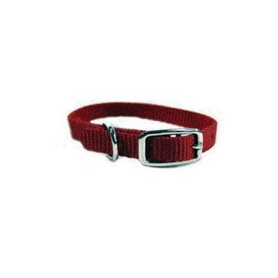 Hamilton Deluxe Single Thick Nylon Collar Red 3/8 X0