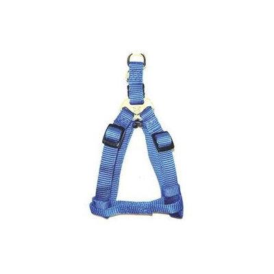 Hamilton Pet Company - Adjustable Easy On Harness- Blue .38 X 10-16 - SHA XSBL