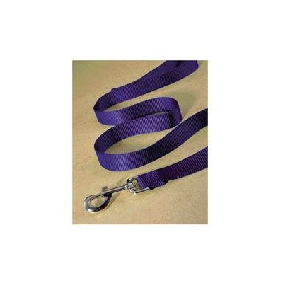 Hamilton Pet Products Single Thick Nylon Lead with Snap in Purple