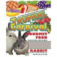 F.m. Brown Pet F.M. Browns Pet Tropical Carnival Rabbit Food 5 Lb