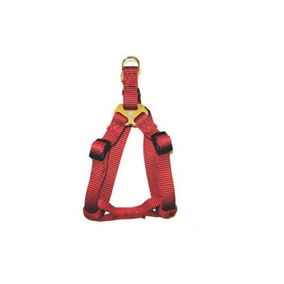 Hamilton Pet Company - Adjustable Easy On Harness- Red .63 X 12-20 - SHA SMRD