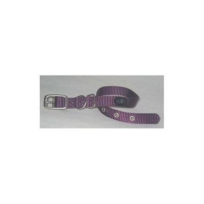 Hamilton Pet Company - Single Thick Nylon Dog Collar- Purple .63 X 16 - B ST 16PM
