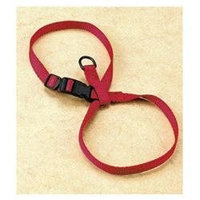 Hamilton Pet Company - Adjustable Figure Eight Cat-pup Harness- Red .38 X 8-13 - CHEA MDRD