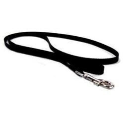 Hamilton Pet Company - Single Thick Nylon Lead- Black 1 X 6 - SLO 6BK