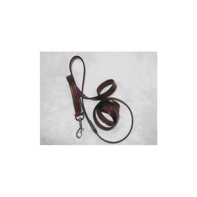 Hamilton Pet Company Hamilton Pet Products Leather Lead in Burgundy