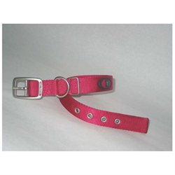 Hamilton Pet Company Hamilton Pet Dog Collar Pink 20in