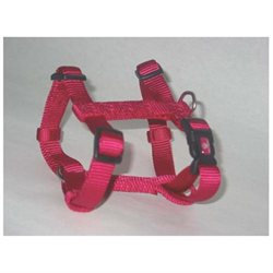 Hamilton Pet Company - Adjustable Dog Harness- Pink Medium - B CFA MDRS