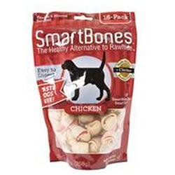 Smart Bone Chicken Bone Sb Chicken Mini 16Pk