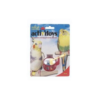 JW PET COMPANY BJW31091 Activitoys Drum Bird Toy
