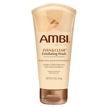 Ambi Even & Clear Exfoliating Wash, 5 oz