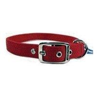 Hamilton Pet Company - Double Thick Nylon Dog Collar- Red 1 X 24 - DD 24RD