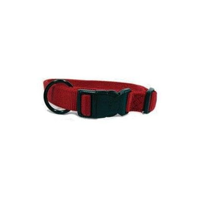 Hamilton Pet Company - Adjustable Dog Collar- Red 1 X 18-26 - FAL 18-26 RD