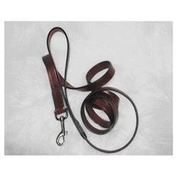 Hamilton Leather LM8 34BU Leather Lead, Burgundy