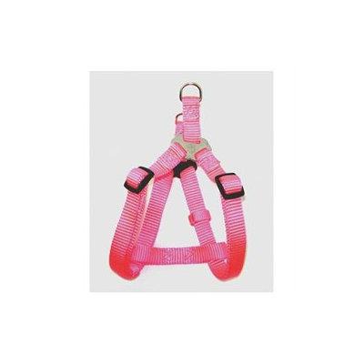 Hamilton Pet Company - Adjustable Easy On Harness- Hot Pink .38 X 10-16 - SHA XSHP