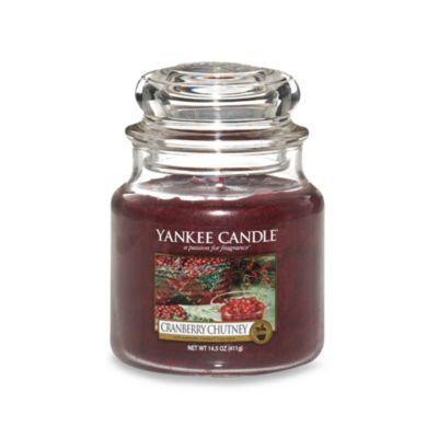 Yankee Candle® Housewarmer® Cranberry Chutney Medium Classic Candle Jar